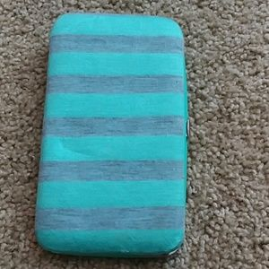 Accessories - Striped Wallet Phone Case